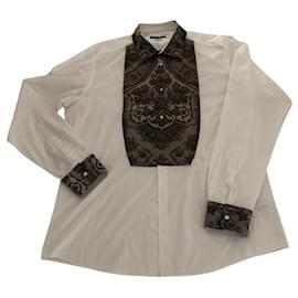 Dolce & Gabbana-Shirts-White
