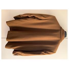 Yves Saint Laurent-Vintage brown blazer jacket-Brown