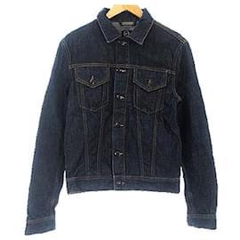 Alexander Mcqueen-[Used] ALEXANDER MCQUEEN G Jean denim jacket Sten-Dark blue