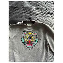 Kenzo-Sweaters-Grey