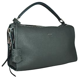 Fendi-Grey Roman Lei Selleria Bag-Grey