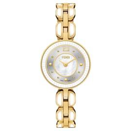 Fendi-Fendi My Way Bracelet Watch-Golden,Metallic