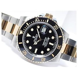 Rolex-ROLEX new model Submariner date combination black Ref.126613LN Mens-Black