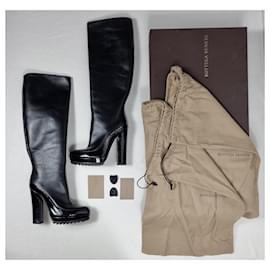 Bottega Veneta-Bottega Veneta boots-Black