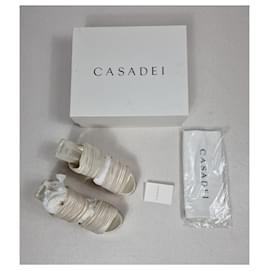 Casadei-Casadai Sandalen-Cream