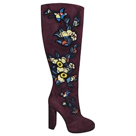 Dsquared2-Dsquared2 Boots-Dark red