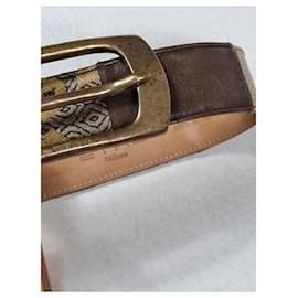 Etro-ETRO belt-Brown