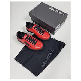 Neil Barrett-Neil Barrett Sneakers-Red