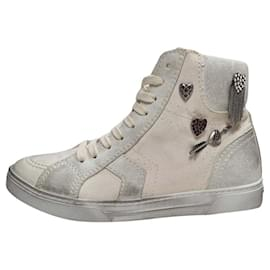 Saint Laurent-Saint Laurent Sneakers-Beige