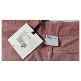 Red Valentino-Valentino Red pants-Pink