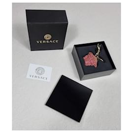 Versace-Versace pendant Medusa-Dark red