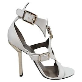 Versace-Versace sandals-White