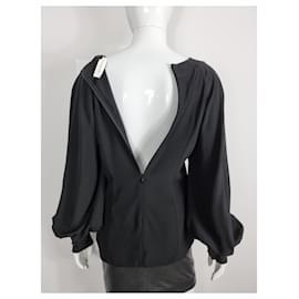Zimmermann-Carpenter blouse-Black
