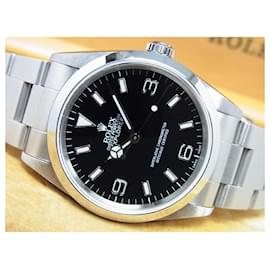 Rolex-ROLEX EXPLORERI Ref.14270 A series Mens-Black