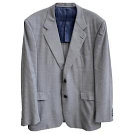 Loro Piana-Loro Piana Single Breasted Blazer in Checkered Wool-Multiple colors