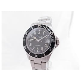 Autre Marque-NEW JACQUES ETOILE AUTOMATIC DIVING WATCH 40 MM STEEL PALLADIE DIVING WATCH-Silvery