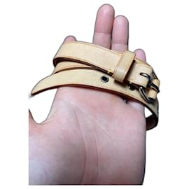 Louis Vuitton-Belts-Beige