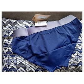 John Galliano-Swimwear-Navy blue