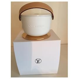 Louis Vuitton-BOUGIE LOUIS VUITTON-Blanc cassé