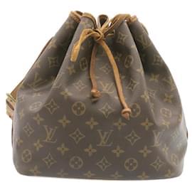 Louis Vuitton-LOUIS VUITTON Monogram Petit Noe Shoulder Bag M42226 LV Auth 23878-Other