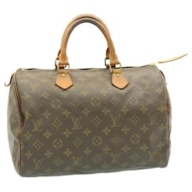 Louis Vuitton-Louis Vuitton Monogram Speedy 30 Hand Bag M41526 LV Auth 20815-Other