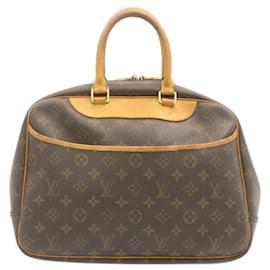 Louis Vuitton-LOUIS VUITTON Monogram Deauville Hand Bag M47270 LV Auth 23880-Other