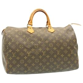 Louis Vuitton-Louis Vuitton Monogram Speedy 40 Hand Bag M41522 LV Auth 21184-Other
