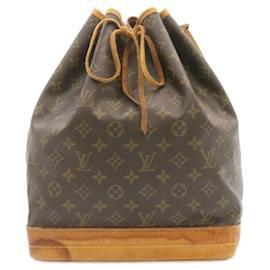 Louis Vuitton-LOUIS VUITTON Monogram Noe Shoulder Bag M42224 LV Auth 23882-Other