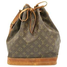 Louis Vuitton-LOUIS VUITTON Monogram Noe Shoulder Bag M42224 LV Auth 23886-Other