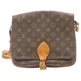 Louis Vuitton-LOUIS VUITTON Monogram Cartouchiere GM Shoulder Bag M51252 LV Auth 23888-Other