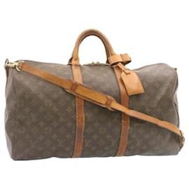 Louis Vuitton-Louis Vuitton Monogram Keepall Bandouliere 50 Boston Bag M41416 LV Auth 22616-Other