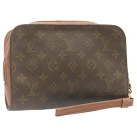 Louis Vuitton-LOUIS VUITTON Monogram Orsay Clutch Bag M51790 LV Auth 23894-Other