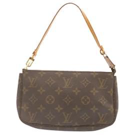 Louis Vuitton-LOUIS VUITTON Monogram Pochette Accessoires Pouch M51980 LV Auth 23046-Other