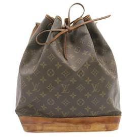 Louis Vuitton-LOUIS VUITTON Monogram Noe Shoulder Bag M42224 LV Auth 23897-Other