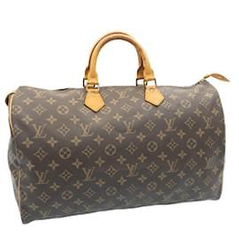 Louis Vuitton-Louis Vuitton Monogram Speedy 40 Hand Bag M41522 LV Auth 23701-Other
