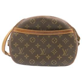 Louis Vuitton-LOUIS VUITTON Monogram Blois Shoulder Bag M51221 LV Auth 23902-Other