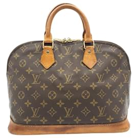 Louis Vuitton-LOUIS VUITTON Monogram Alma Hand Bag M51130 LV Auth 23779-Other