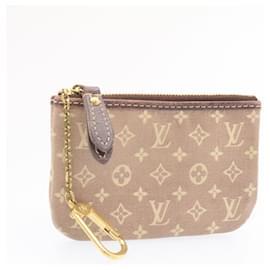 Louis Vuitton-LOUIS VUITTON Monogram Ideal Pochette Cles Coin Case Sepia M95230 LV Auth 23781-Other