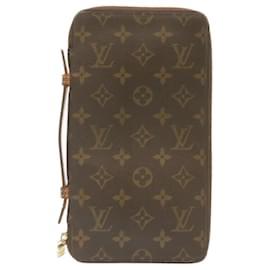Louis Vuitton-LOUIS VUITTON Monogram Organizer De Voyage Travel Case M60119 LV Auth 23821-Other