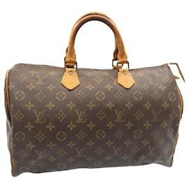 Louis Vuitton-Louis Vuitton Monogram Speedy 35 handbag M41524 LV Auth 23822-Other