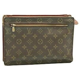 Louis Vuitton-LOUIS VUITTON Monogram Angian Clutch Bag M51205 LV Auth 23833-Other