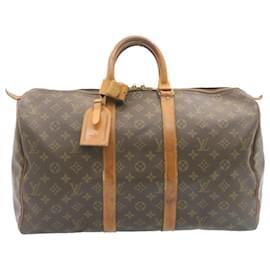 Louis Vuitton-Louis Vuitton Monogram Keepall 45 Boston Bag M41428 LV Auth 23924-Other