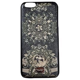 Dolce & Gabbana-Dolce & Gabbana cell phone case-Black