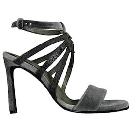 Brunello Cucinelli-Brunello Cucinelli sandals-Green