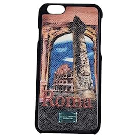 Dolce & Gabbana-Dolce & Gabbana Handy Case iPhone-Black
