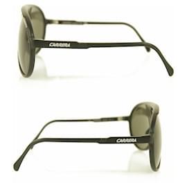 Carrera-Carrera Champion / L DL5 – QT Aviator Shaped Black Sunglasses-Black