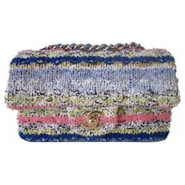 Chanel-Chanel Tweed small bag-Multiple colors