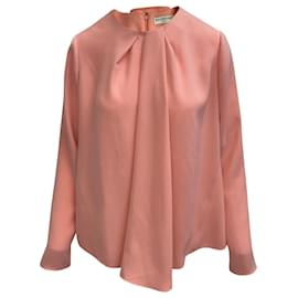 Balenciaga-Balenciaga Peach Long Sleeve Blouse-Peach
