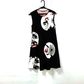 Alexander Mcqueen-[Used] ALEXANDER MCQUEEN One Piece Sleeveless-Black,White,Red,Multiple colors