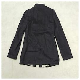 Alexander Mcqueen-[Used] ALEXANDER MCQUEEN Wool Riders Half Coat-Black